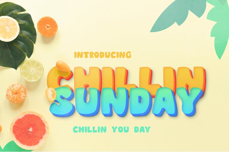 CHILLIN SUNDAY example image 1