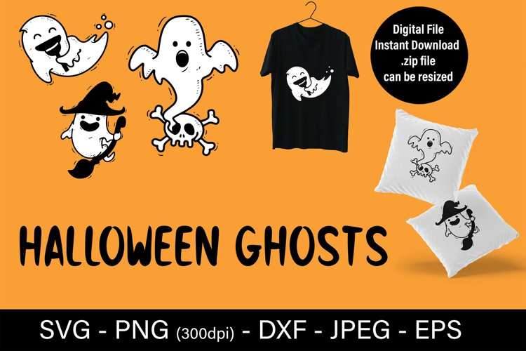 Sublimation designs for t shirts - fall SVG halloween example image 1