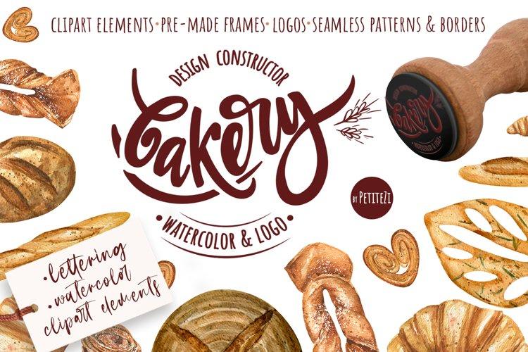 Bakery. Design constructor