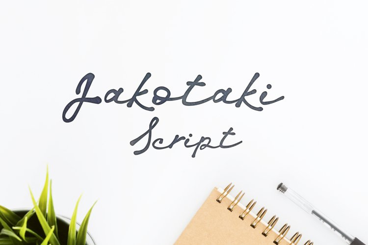 Jakotaki Script example image 1