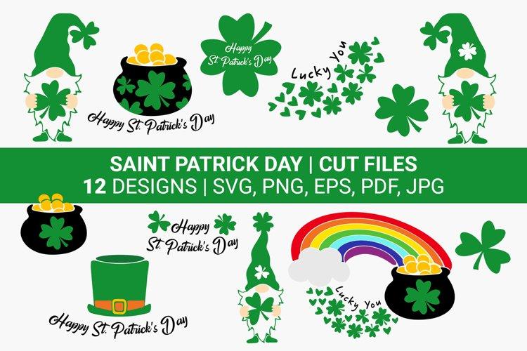 Shamrock svg, Saint Patrick day svg, Gnomes svg Bundles