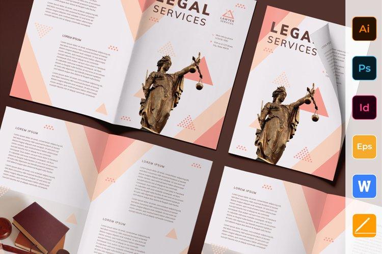 Legal Services Brochure Bifold