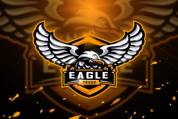 Eagle Squad - Mascot & Esport logo