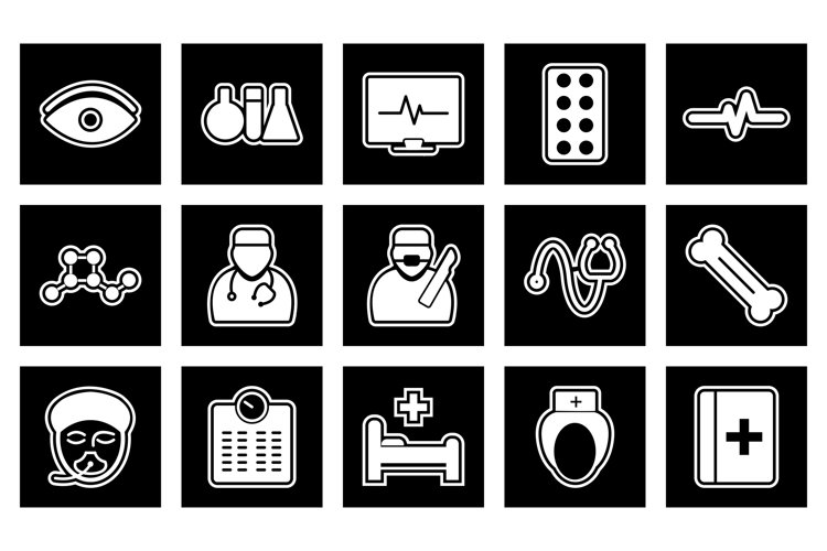 Set Of Medical and Healthcare Icons example image 1