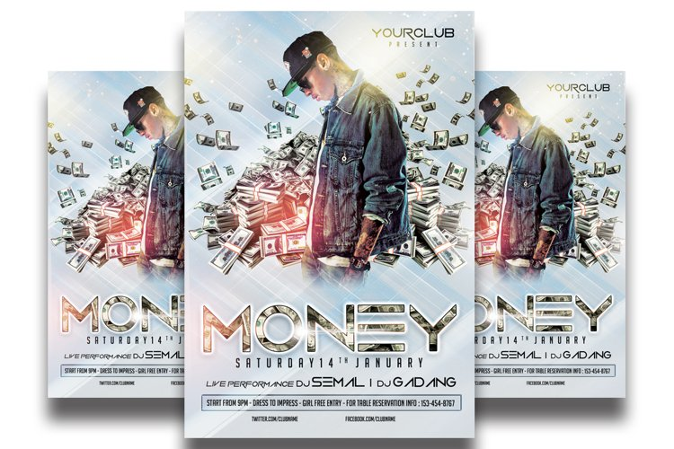 Money Party -Flyer Template