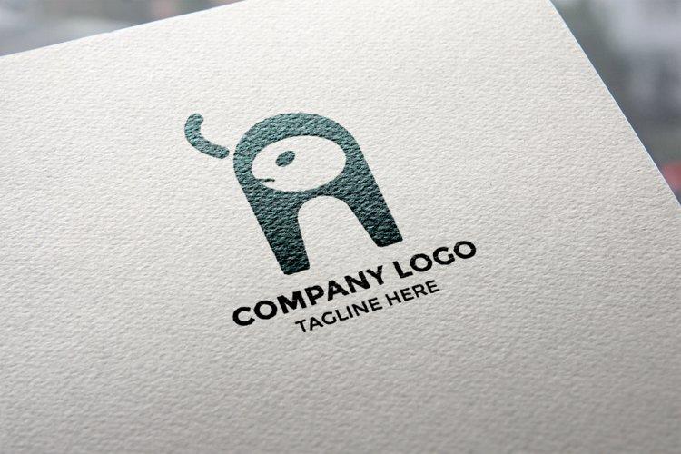 Animal in focus - Letter A Logo design