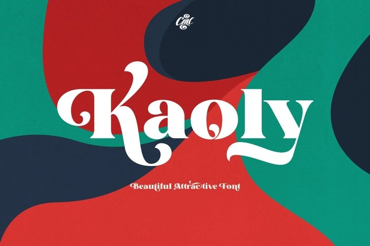 Kaoly - Beautiful Attractive Font example image 1