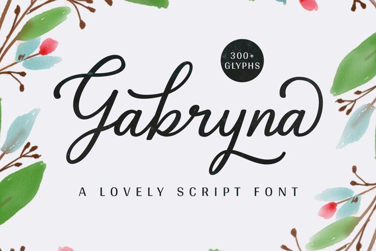 Gabryna Font example image 1
