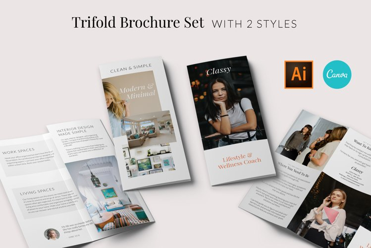 ARIYAH Trifold Brochure Template
