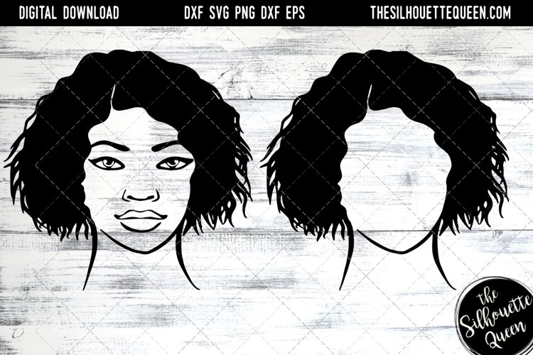 Afro Hair - Short Wet Wavy Curly example image 1
