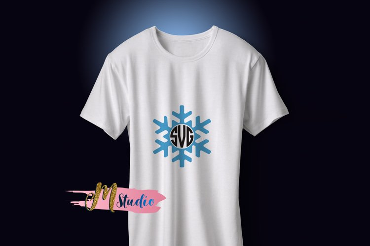 Snowflake svg, for Silhouette Cameo or Cricut example 1