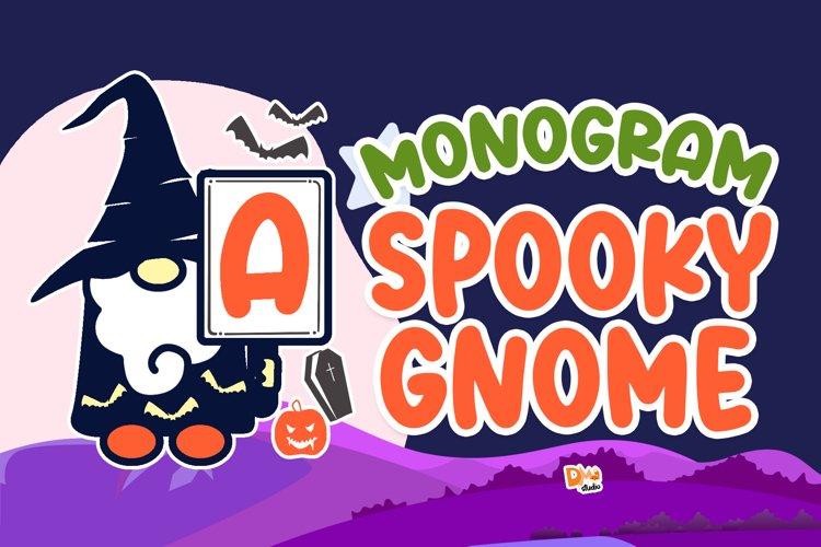 Monogram Spooky Gnome