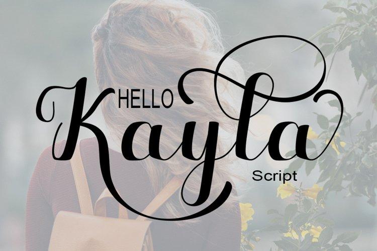 Hello Kayla example image 1