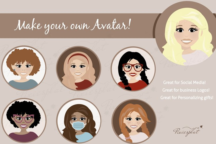 Make Your Own Avatar Set - Plus Premade Avatars Included!