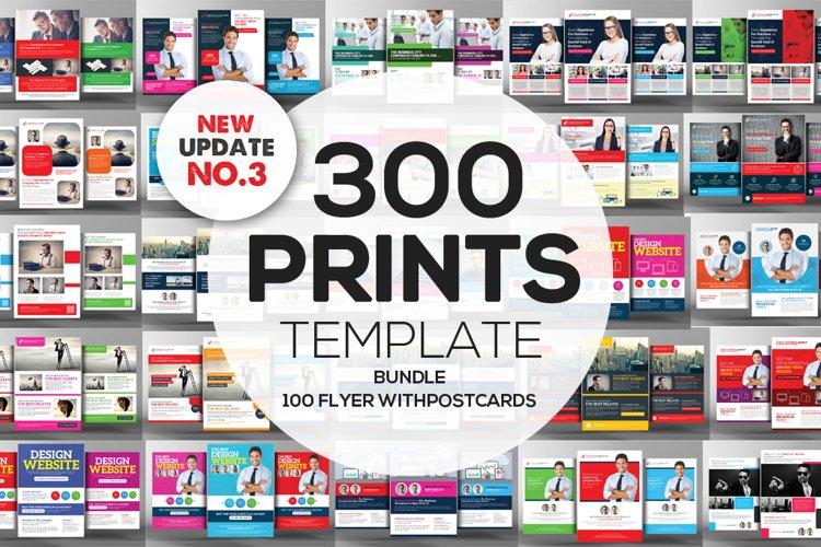 350+ Print Templates Bundle example image 1