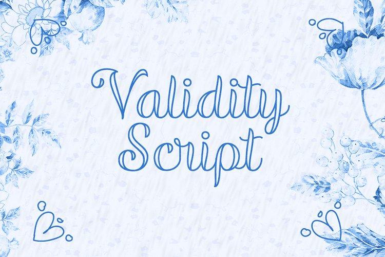 Validity Script example image 1