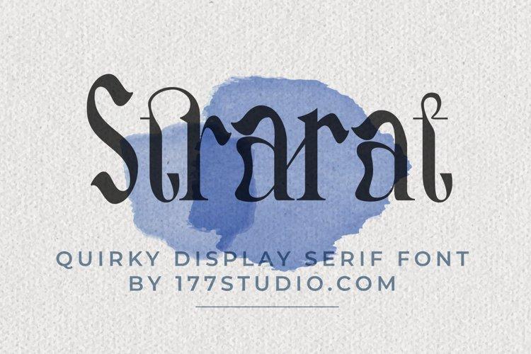 Strarat Elegante Font example image 1
