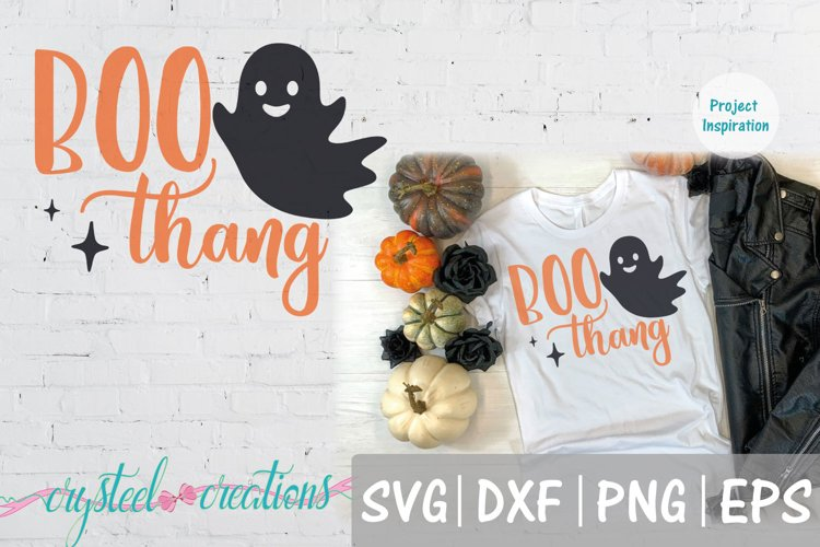 Boo Thang SVG, DXF, PNG,EPS example image 1