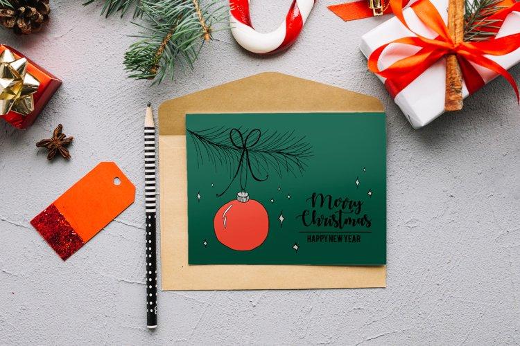 Christmas Ball - Christmas Card
