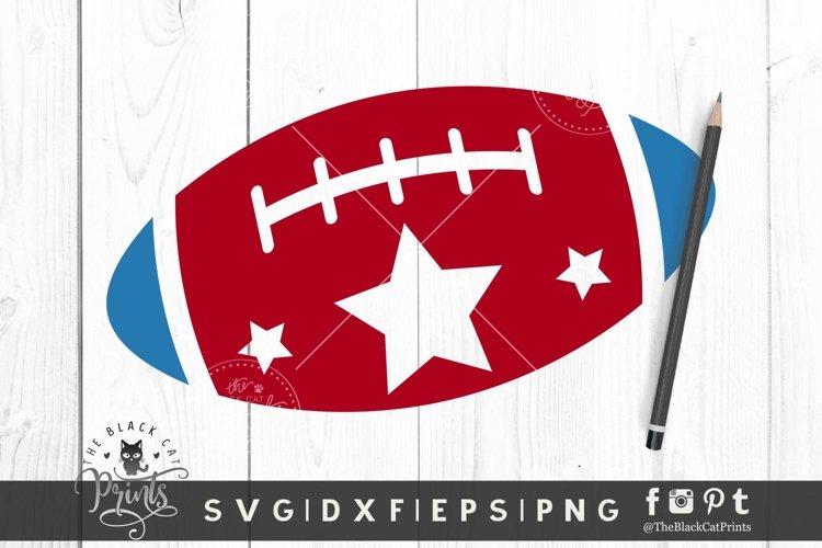 American Football SVG | Patriotic SVG | 4th of july SVG