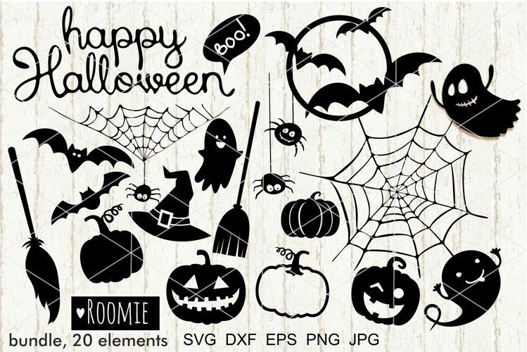 Happy Halloween Svg BUNDLE, Witch But Pumpkin ghosts spider