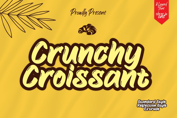 Crunchy Croissant example image 1