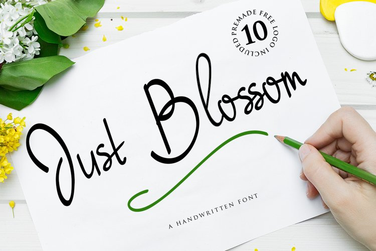 Just Blossom example image 1