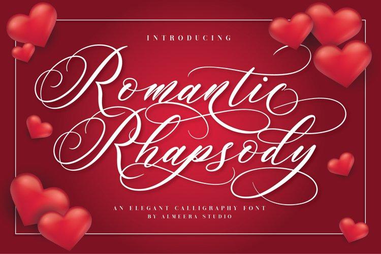 Romantic Rhapsody example image 1