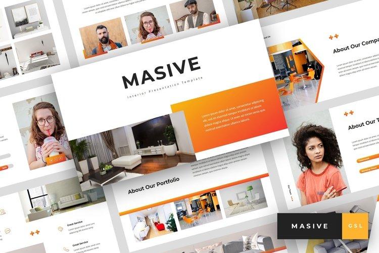 Masive - Interior Google Slides Template example image 1
