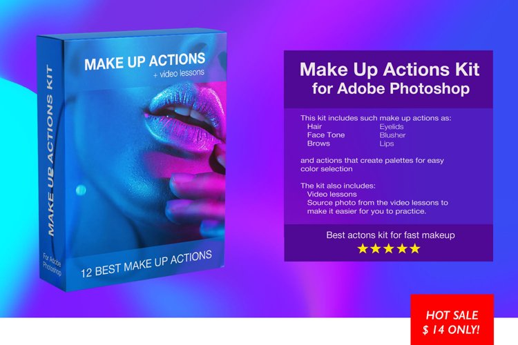 Make Up Actions Kit