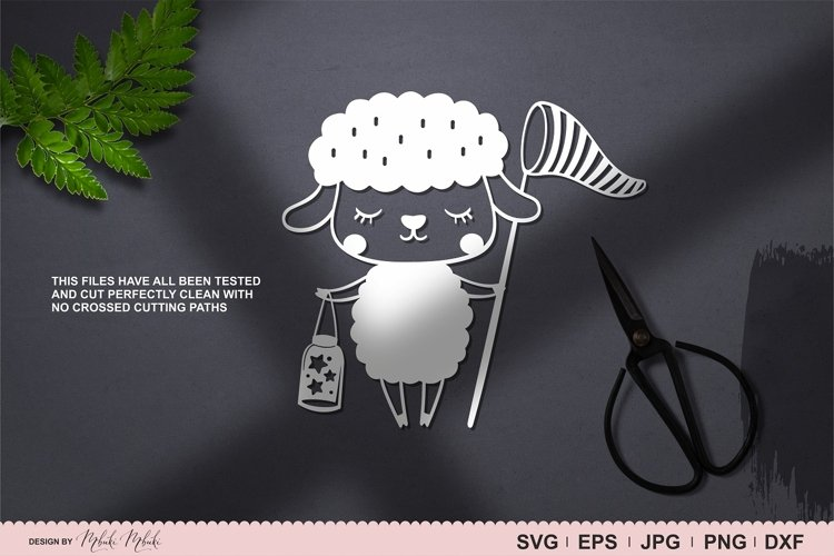 Scandinavian Sheep Svg Instant Download. Craft cutting file example 3