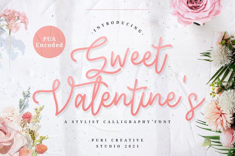 Sweet Valentines - Stylish Calligraphy Font