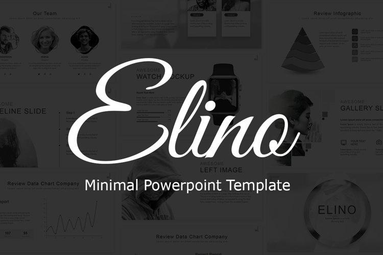 Elino - Minimal Presentation example image 1