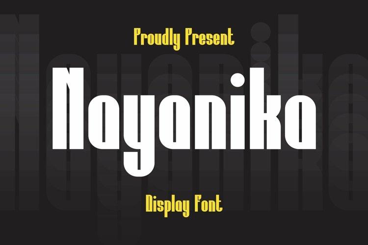 Web Font Nayanika Font example image 1