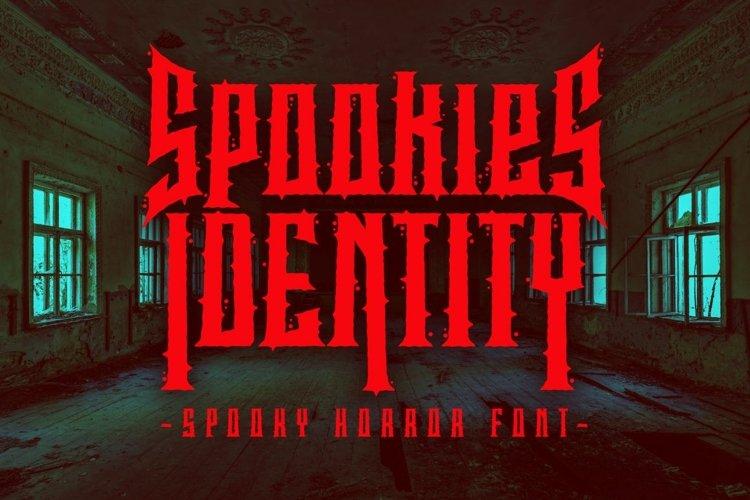 Spookies Identity - Spooky Horror Font