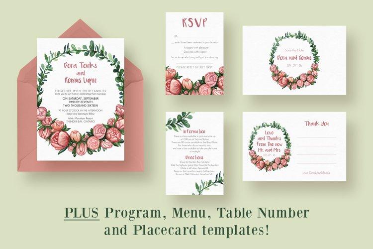Flower Wreath Wedding Suite