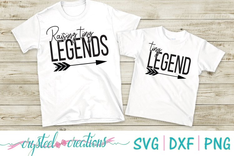 Raising Tiny Legends and Tiny Legend SVG, DXF, PNG example image 1