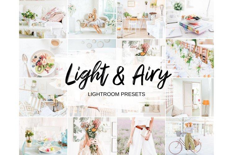 Light & Airy Lightroom Presets Mobile & Desktop example image 1