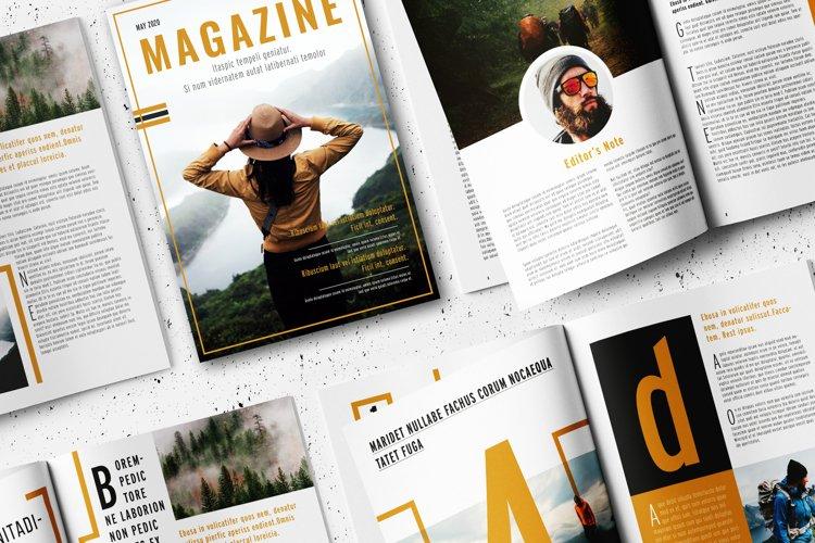 Magazine Template example image 1
