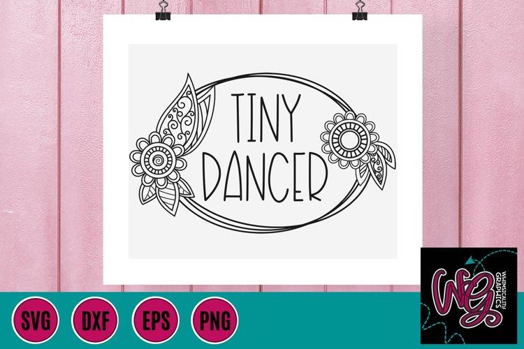 Tiny Dancer SVG, DXF, PNG, EPS
