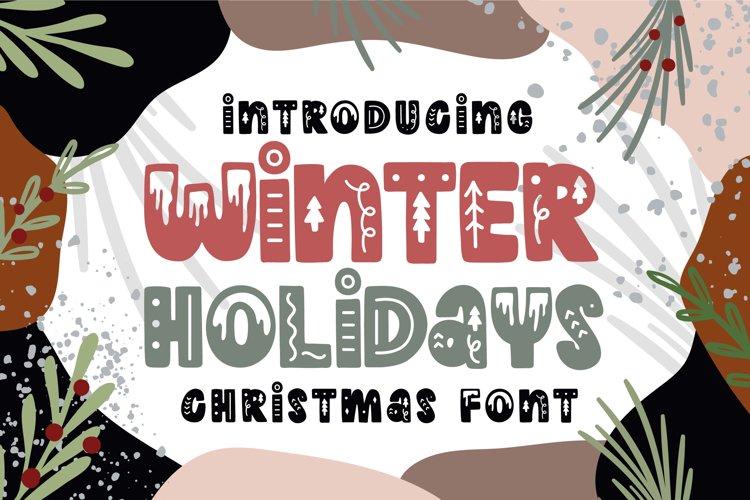 Winter Holidays example image 1