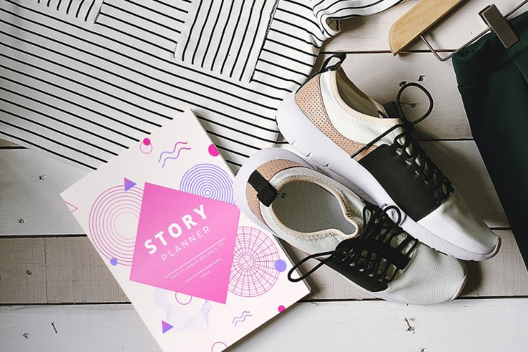 Editable Story Planner Canva Templates example 4