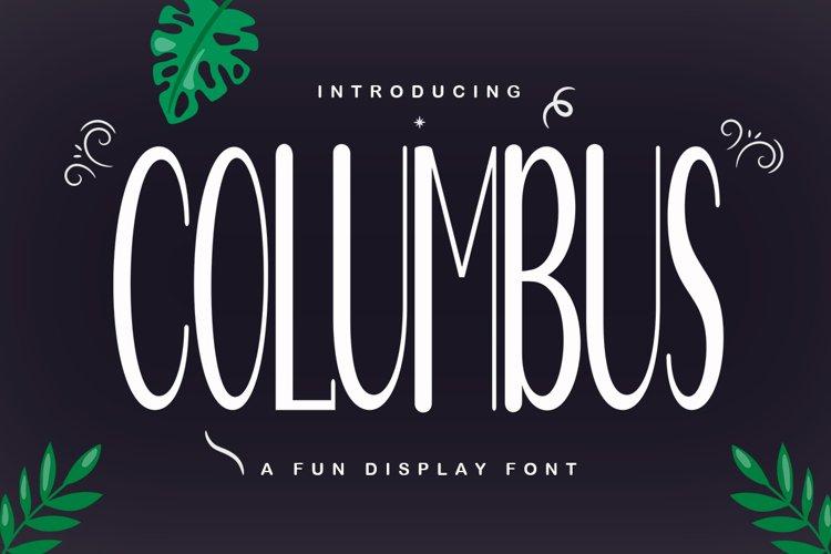 Columbus example image 1