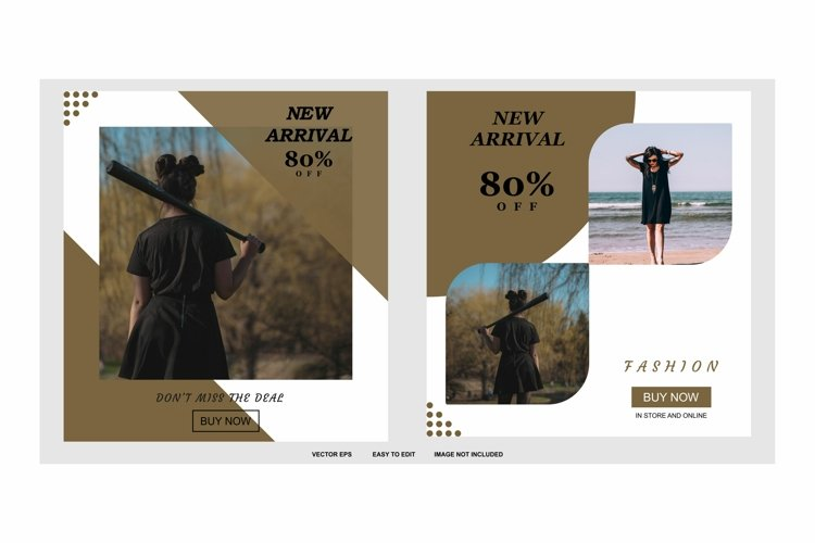 new arrival post template example image 1