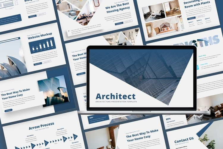 Architect Architecture Presentation example image 1
