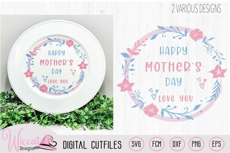 Happy mothers day flower quote
