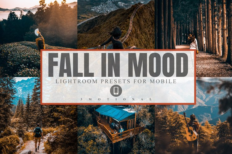 11 Fall in Mood Mobile Lightroom Presets