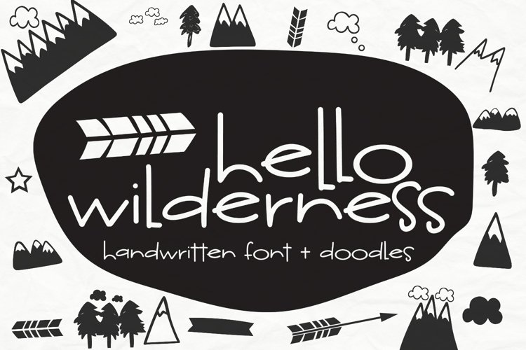 Hello Wilderness Sans example image 1