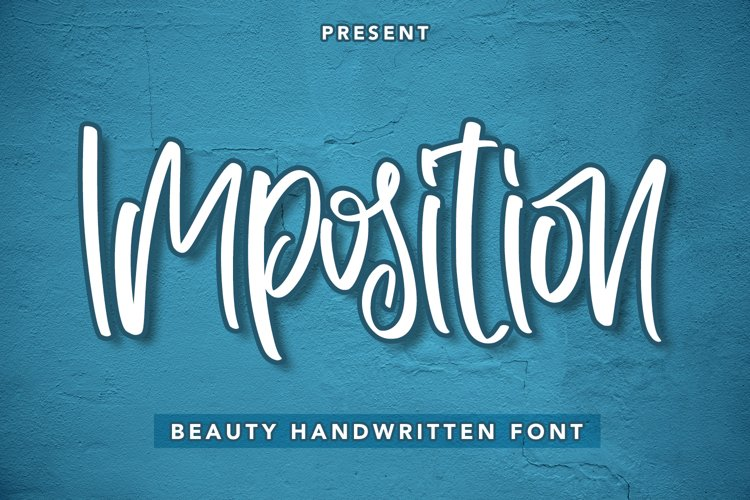 Imposition - Beauty Handwritten Font example image 1