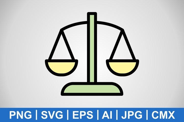 Vector Balance Icon example image 1